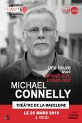 Michael Connelly, une heure avec le maître du roman noir au Théâtre de la Madeleine