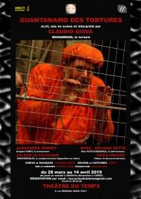 Guantanamo des tortures au Théâtre du Temps