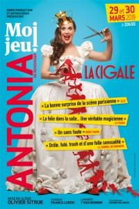 Antonia de Rendinger : Moi jeu à La Cigale