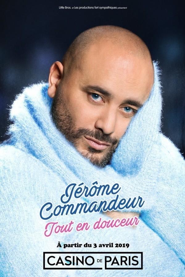 Jérôme Commandeur : Tout en douceur au Casino de Paris