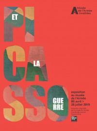 Affiche de l'exposition Picasso et la guerre