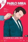 Pablo Mira : Dit des choses contre de l'argent au Théâtre de l'Œuvre