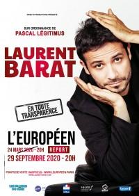 Laurent Barat : En toute transparence à L'Européen