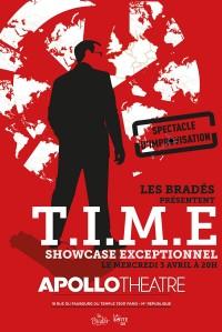 T.I.M.E : Le Spectacle d'improvisation ! à l'Apollo Théâtre