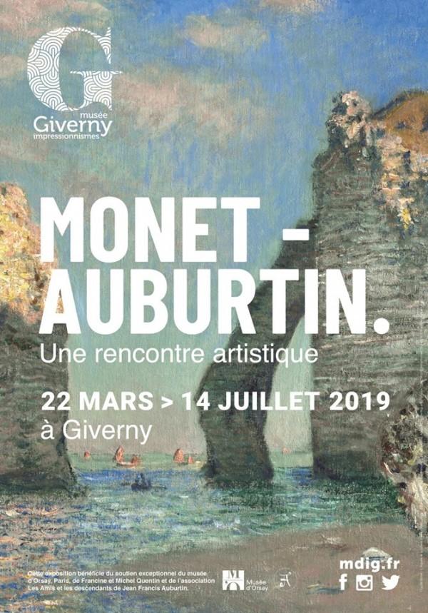 Monet-Auburtin : une rencontre artistique au Musée des Impressionnismes