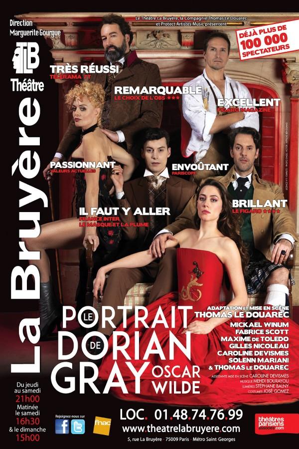 Le Portrait de Dorian Gray au Théâtre La Bruyère
