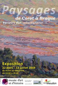 Paysages, de Corot à Braque au Musée d'Art et d'Histoire de Meudon