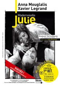 Mademoiselle Julie au Théâtre de l'Atelier