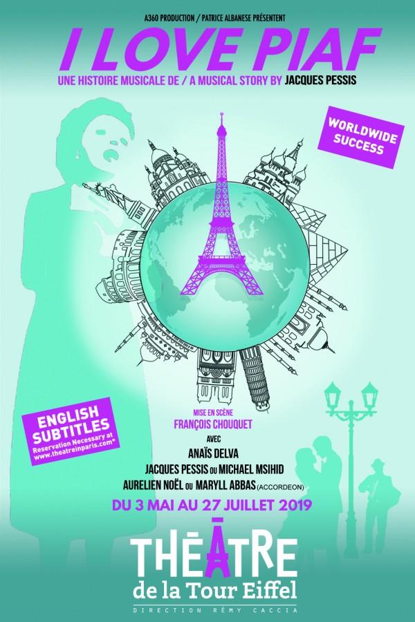 I Love Piaf au Théâtre de la Tour Eiffel