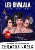 Les Divalala : Femme, femme, femme ! au Théâtre Lepic