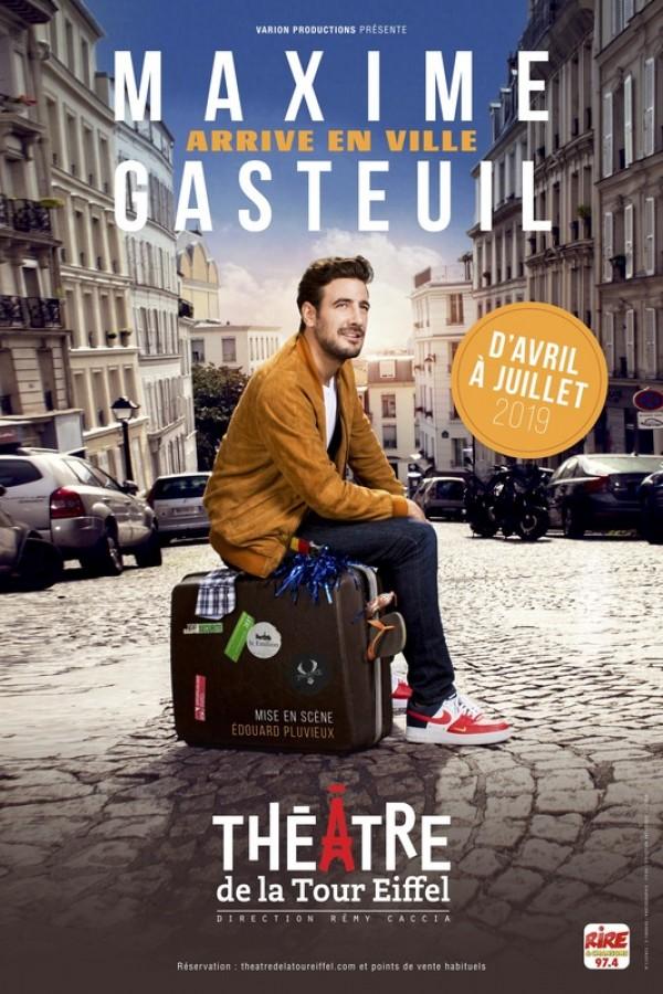 Maxime Gasteuil arrive en ville au Théâtre de la Tour Eiffel