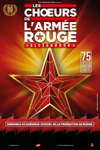 Les Chœurs de l'Armée Rouge : Alexandrov au Palais des Congrès de Paris