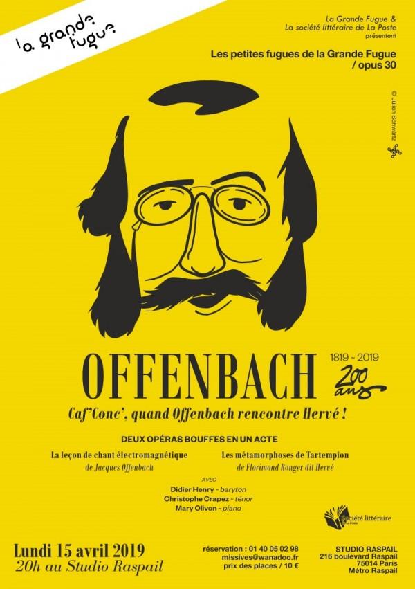 Offenbach Caf'Conc' au Studio Raspail
