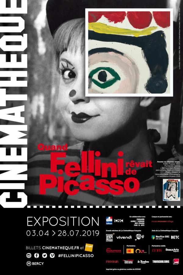 Femme au chapeau rouge, Pablo Picasso, 1965, Fundación Almine y Bernard Ruiz-Picasso para el Arte, Madrid.