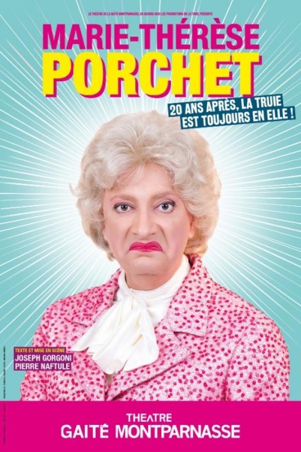Marie-Thérèse Porchet : La truie est en moi ! au Théâtre de la Gaîté-Montparnasse
