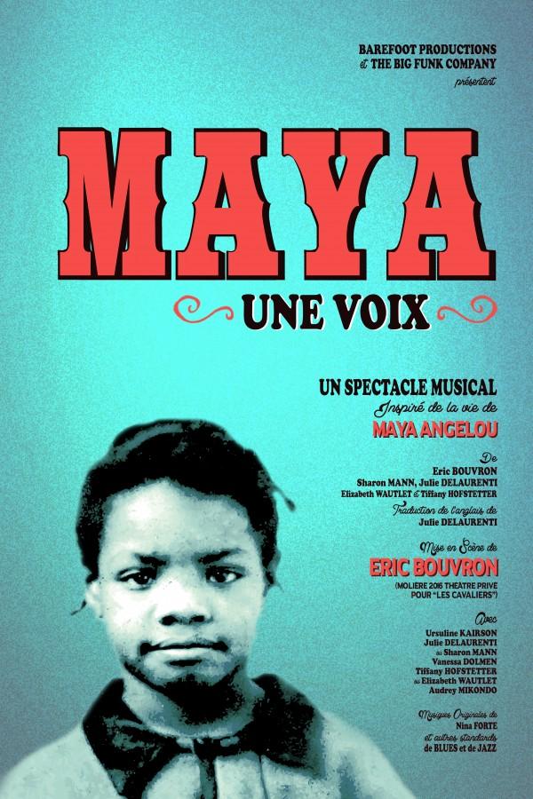 Maya, une voix au Théâtre L'Essaïon