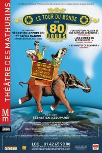 Le Tour du monde en 80 jours au Théâtre des Mathurins
