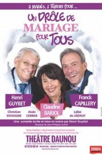 Un drôle de mariage pour tous au Théâtre Daunou