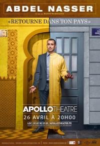 Abdel Nasser : Retourne dans ton pays à l'Apollo Théâtre