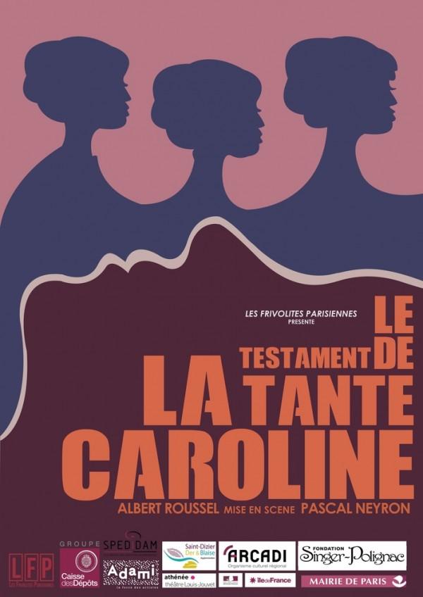Le Testament de la tante Caroline - Affiche