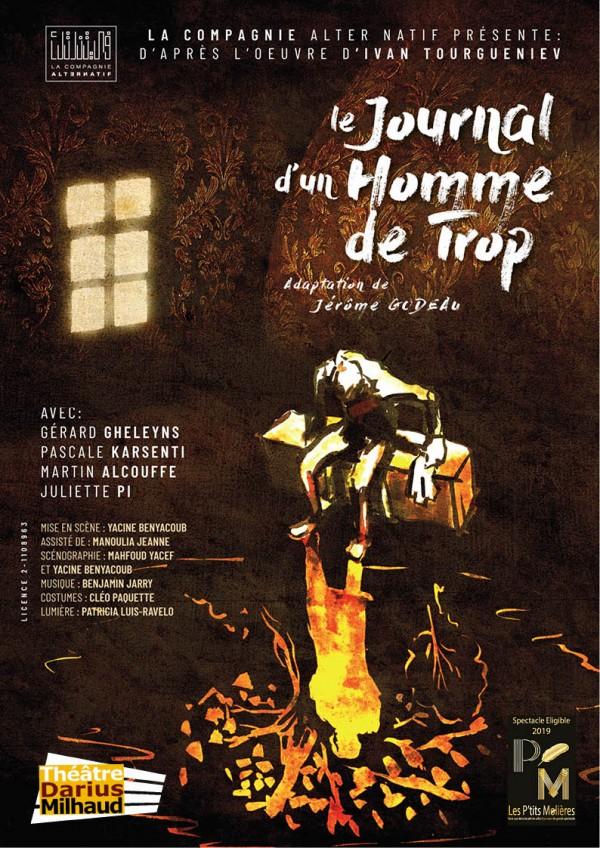 Le Journal d'un homme de trop au Théâtre Darius Milhaud