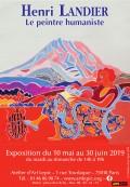Henri Landier, le peintre humaniste (2000-2014) à l'Atelier d'Art Lepic