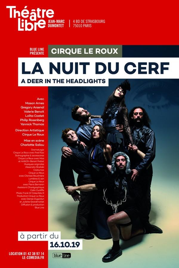 Cirque Le Roux : La Nuit du cerf au Théâtre Libre