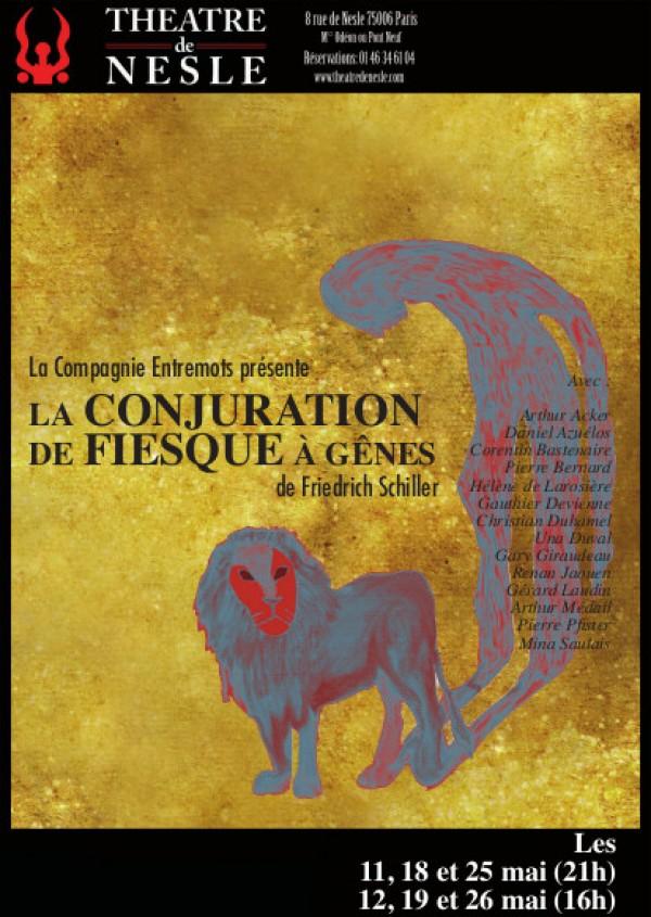 La Conjuration de Fiesque à Gênes au Théâtre de Nesle
