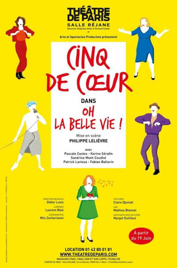 Oh la belle vie ! au Théâtre de Paris