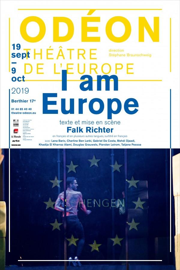 I am Europe à l'Odéon - Ateliers Berthier