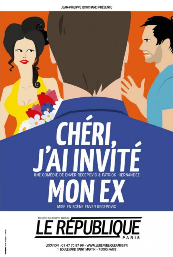 Chéri, j'ai invité mon ex ! au Théâtre Le République