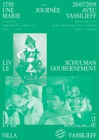 Liv Schulman, Le Goubernement à la Villa Vassilieff