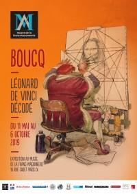 Boucq : Léonard de Vinci décodé au Musée de la Franc-Maçonnerie