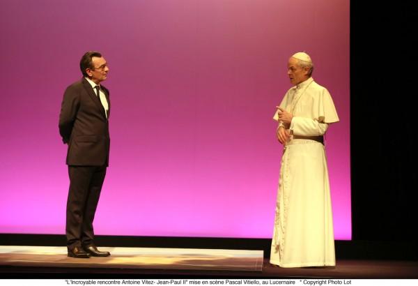 L'Incroyable Rencontre, Antoine Vitez-Jean-Paul II