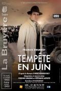 Tempête en juin au Théâtre La Bruyère