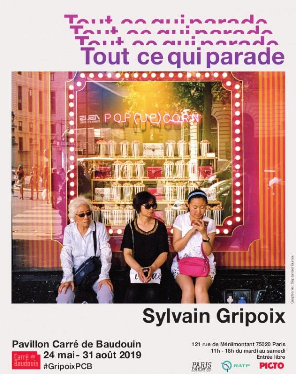 Sylvain Gripoix, Tout ce qui parade au Pavillon Carré de Baudoins