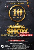 Le Samba Show fête ses 10 ans au Palais des glaces