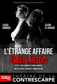 L'Étrange Affaire Émilie Artois au Théâtre de la Contrescarpe