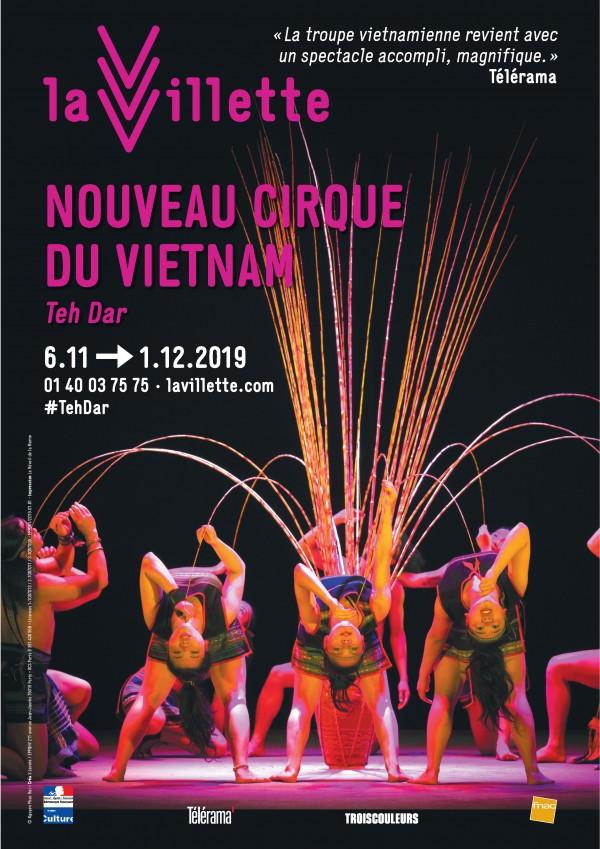 Nouveau cirque du Vietnam : Teh Dar à La Villette