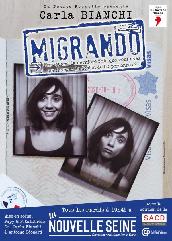 Carla Bianchi : Migrando à La Nouvelle Seine