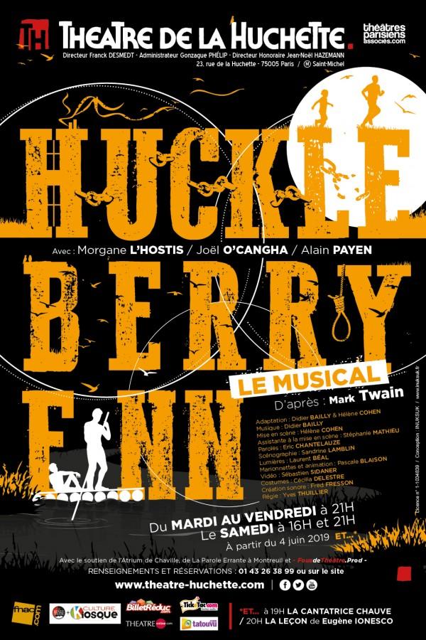Huckleberry Finn, le musical au Théâtre de la Huchette