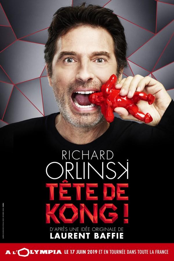 Richard Orlinski : Tête de Kong à L'Olympia