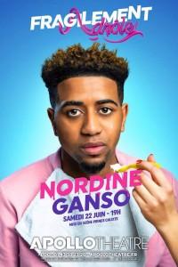 Nordine Ganso : Fragilement drôle à l'Apollo Théâtre