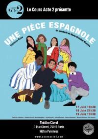 Une pièce espagnole au Théâtre Clavel