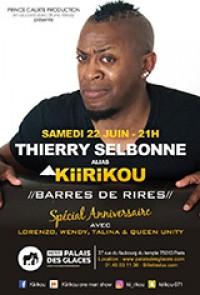 Thierry Selbonne, alias Kiirikou : Barres de rires au Palais des Glaces