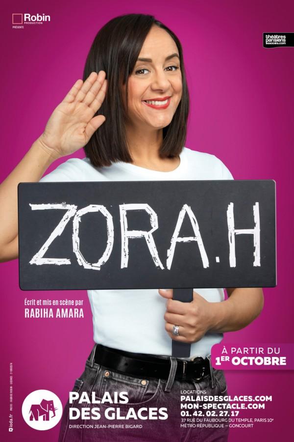 Zora.H au Palais des Glaces