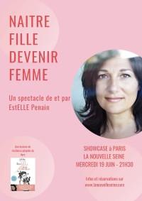EstELLE Penain : Naître fille devenir femme à La Nouvelle Seine