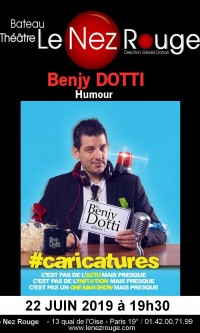 Benjy Dotti : The Comic Late Show au Nez Rouge