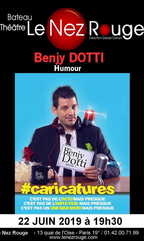 Benjy Dotti : The Comic Late Show au Nez Rouge