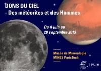 Dons du Ciel — Des météorites et des Hommes au Musée de Minéralogie